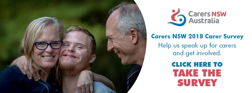 Carers NSW 2018 Carer Survey – have your say!