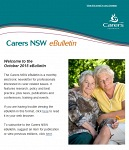 Carers NSW eBulletin October 2015 - now available