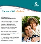 Carers NSW eBulletin September 2015 - now available