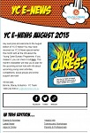 Young Carers E-Newsletter August 2015 - now available