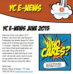 Young Carers E-Newsletter June 2015 - now available