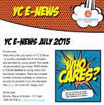 Young Carers E-Newsletter July 2015 - now available