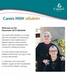 Carers NSW eBulletin December 2015 - now available