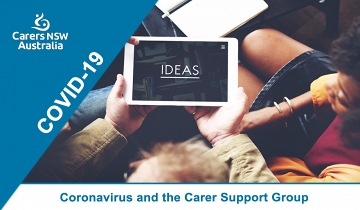 Facilitator Meetup: Coronavirus and the carer support group